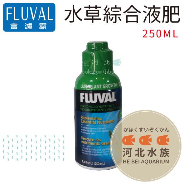 [ 河北水族 ]  FLUVAL 富濾霸 【 水草綜合液肥  250ML 】HG-A8360