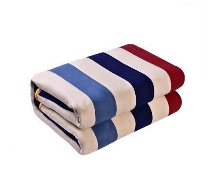 電熱毯雙人雙控定時調溫1.8加大2米安全防水無輻射家用加厚電褥子igo     易家樂
