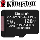 Kingston 金士頓 128GB 128G microSDXC TF UHS-I A1 V10 記憶卡 (SDCS2/128GB)