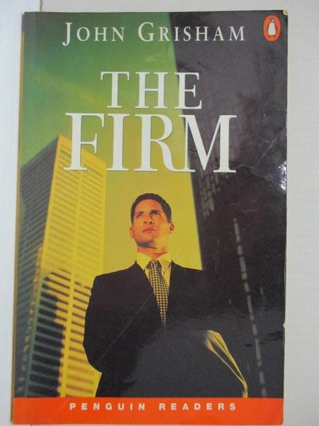 【書寶二手書T1/原文小說_H6W】The Firm (ESL Penguin Readers)_GRISHAM, JOHN, 約翰.葛里遜