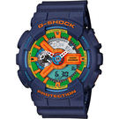 CASIO 卡西歐 G-SHOCK 樂高玩色電子錶-藍/51mm GA-110FC-2ADR / GA-110FC-2A