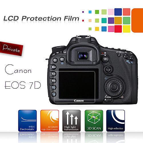【EC數位】Canon 100D 600D 550D 700D 5D3 70D 60D 5D2 S90 G1X G11 G12 SX30 SX40 SX50 靜電防刮螢幕保護貼