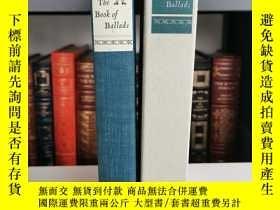 二手書博民逛書店The罕見Book of Ballads(《歌謠集》MacEdward Leach編選 大師 Fritz Kred