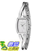 [107美國直購] 手錶 DKNY Womens NY2234 CROSSWALK Silver Watch