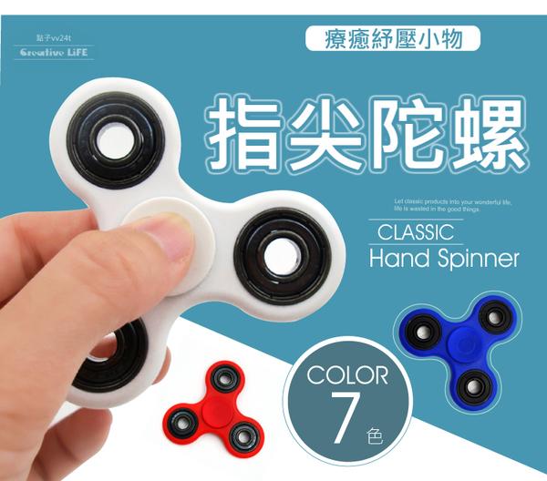 當日出貨 指尖陀螺 三角手指陀螺 紓壓解壓 Hand Fidget Spinner 手指螺旋 商檢合格【實拍七色】