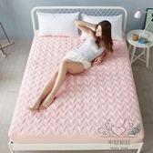 (雙12購物節)床罩 床笠單件床套加厚夾棉床罩床單席夢思床墊保護套1.8m床