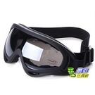 滑雪 防風鏡 防沙鏡 越野 護目鏡 眼鏡 風鏡 黑框 灰黑 (791074_J011)