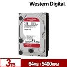 WD30EFRX 紅標Plus 3TB 3.5吋NAS硬碟