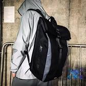 後背包雙肩包大容量書包騎行運動戶外潮流休閒時尚個性【古怪舍】