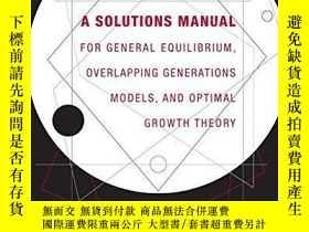 二手書博民逛書店A罕見Solutions Manual For General Equilibrium, Overlapping