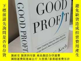 二手書博民逛書店Good罕見Profit: How Creating Value