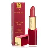 雅詩蘭黛 絕對慾望奢華潤唇膏 經典玫瑰限量版3.5g #420 玫瑰荔枝-公司貨