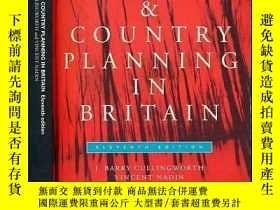 二手書博民逛書店Town罕見and Country Planning in Br