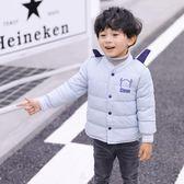 兒童羽絨內膽男女童外穿加厚套裝中小童輕薄羽絨服嬰幼兒寶寶外套 QG14869『Bad boy時尚』