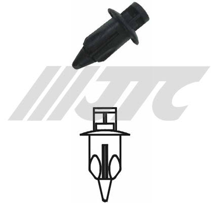 《VISA汽車修護設備》 車用塑膠扣  JTC-RD47