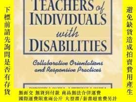 二手書博民逛書店Families罕見And Teachers Of Individuals With Disabilities: