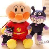 錄音娃娃 - 錄音娃娃日本面包超人毛絨玩具偶細菌小子兒童公仔女生日七夕包郵【韓衣舍】