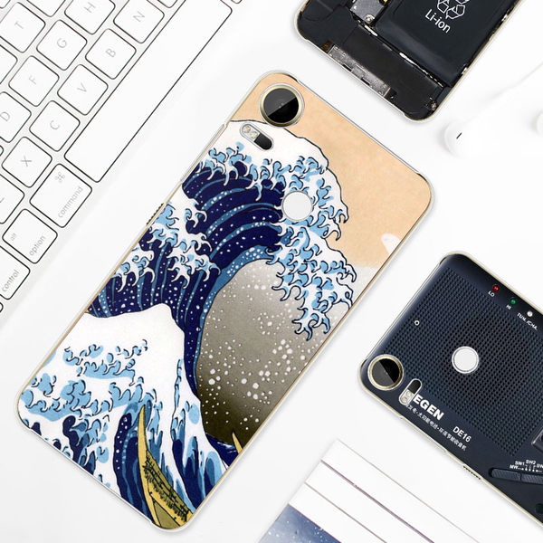 HTC Desire 10 Pro D10i 手機殼 硬殼 浮世繪 海浪波達