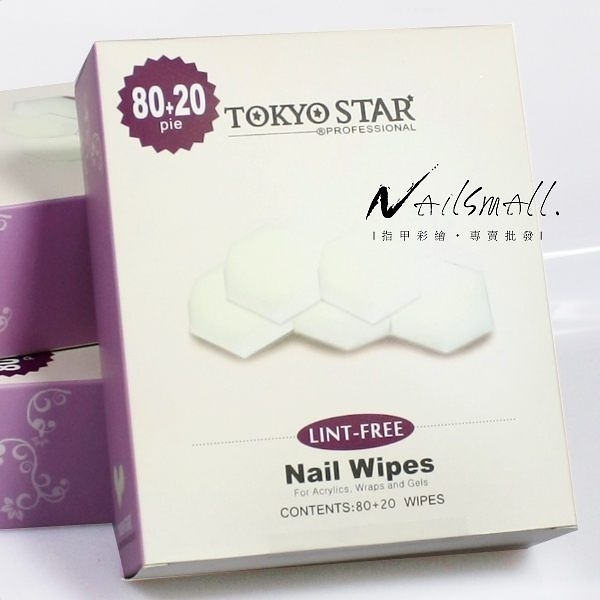 TOKYO STAR 水晶甲凝膠甲面清潔棉 卸甲棉 凝膠 光撩指甲 除膠去漬液《Nails Mall美甲美睫》