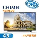 【麥士音響】CHIMEI奇美 43吋 4K電視 43R600
