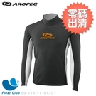 【零碼出清】AROPEC#3XL 男長袖刷毛萊克保暖衣/羊毛(橘/灰) (恕不退換貨)