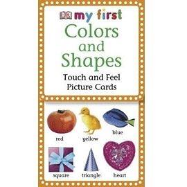 幼兒觸摸卡:顏色和形狀(My First Touch & Feel Picture Cards: Colors & Shapes)