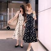 碎花洋裝 吊帶碎花連身裙女2021年春夏季新款時尚a字顯瘦無袖內搭打底裙子 非凡小鋪 新品