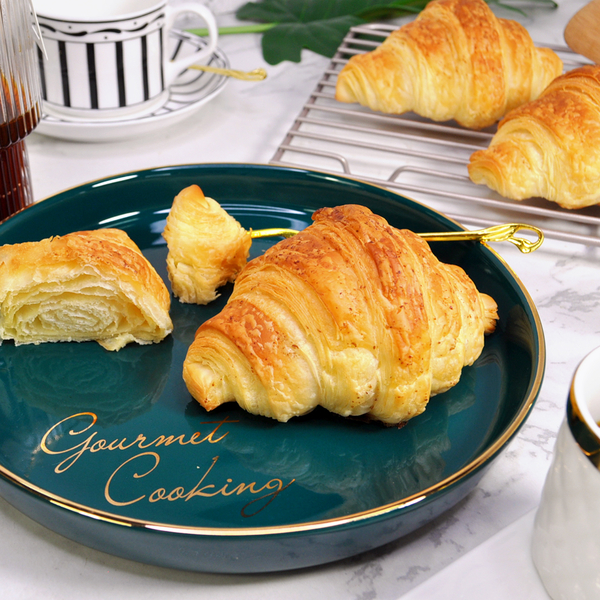 可頌-原味 200g(4入裝)*5袋/箱★愛家非基改純淨素食 香濃純素點心 全素美味輕食 VEGAN Croissant