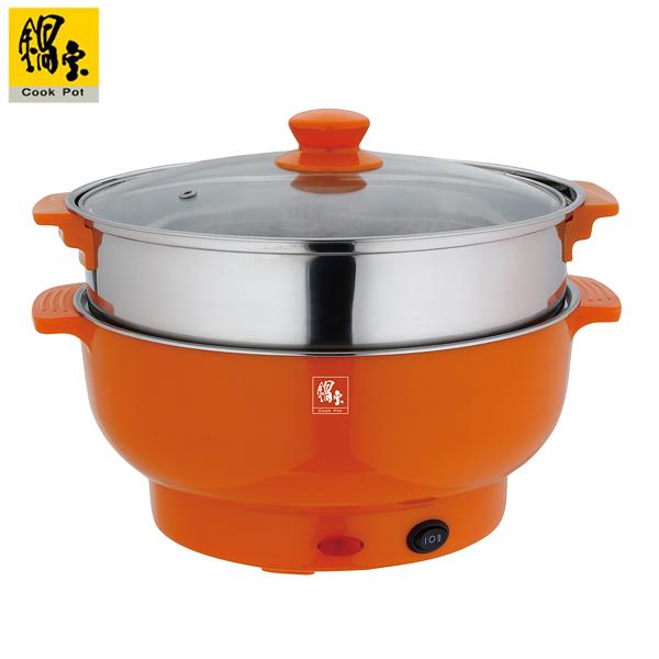 鍋寶 1.8L#304不鏽鋼多功能料理鍋 EC-180-D