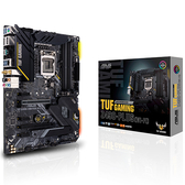 ASUS 華碩 TUF GAMING Z490-PLUS (WI-FI) Intel 第10代 LGA 1200 腳位 ATX 主機板