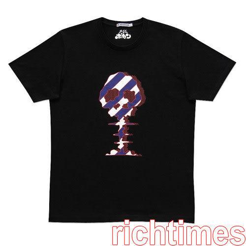 紫紋骷髏圓領T恤~L   UQ3A2114