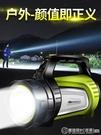 強光手電筒可充電超亮遠射LED氙氣多功能...