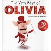 ◇ 小豬奧莉薇‧合輯書 ◇ VERY BEST OF OLIVIA # 內含十個故事. 精裝本