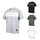 MIZUNO 男1906系列短袖T恤(免運 台灣製 休閒 慢跑 美津濃≡體院≡ D2TA0003