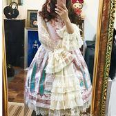洛麗塔洋裝lolita日系吊帶連身裙【奇趣小屋】