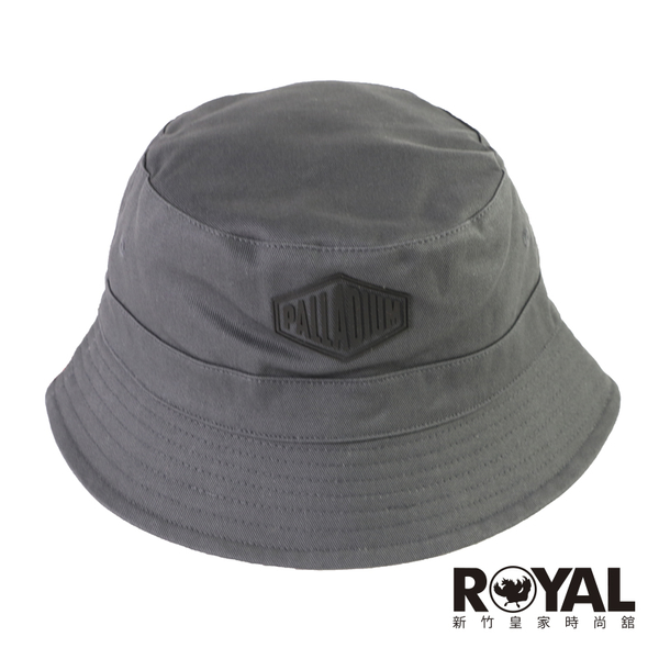 Palladium 黑灰色 漁夫帽 可正反戴 純棉 女款 NO.H3589【新竹皇家 C3176-006】