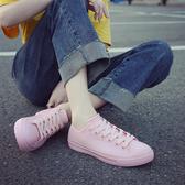 雨鞋女時尚款外穿 新款韓版低幫平底水靴 女成人短筒休閒防水雨靴 快速出貨