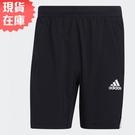 【現貨】Adidas AEROREADY 男裝 短褲 訓練 健身 吸濕排汗 網布拼接 拉鍊口袋 黑【運動世界】GM0643
