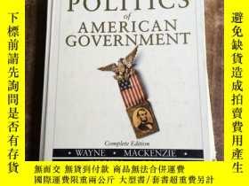 二手書博民逛書店The罕見Politics of American Govern