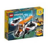 【LEGO 樂高積木】創意大師 Creator 系列 - 無人機探索器 LT31071