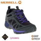 【MERRELL 美國 女 SIREN SPORT Q2 GORE-TEX多功能健行鞋《黑》】ML37794/健走鞋/運動鞋