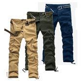 【美國熊】美式風格 立體感多口袋‧ 紮實水洗面料‧八袋款工作褲 / 軍裝褲 [BANG-84]