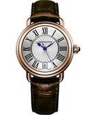 AEROWATCH 雅緻扭索時尚腕錶-銀x玫塊金框 A42960RO01