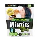 【美國原裝進口】MiNTiES猛特斯│清新低脂潔牙骨T/S 16oz-40入(迷你/小型犬用)