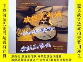 二手書博民逛書店英文原版書罕見Economics(Eighteenth Edit
