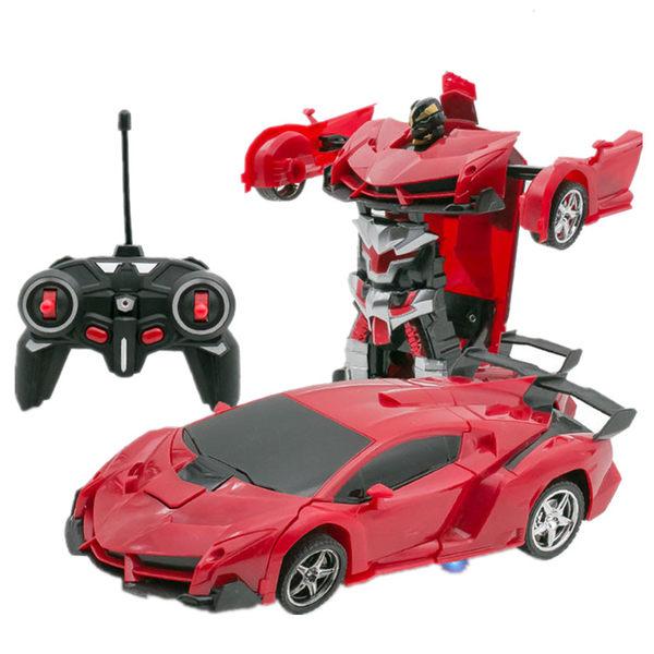 遙控車 變形遙控汽車金剛機器人充電動無線遙控車玩具車男孩禮物4-10歲【七夕情人節限時八折】