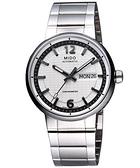 MIDO 美度 Great Wall 長城系列機械手錶-白 M0154311103709
