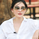 SPEKTRE 太陽眼鏡 INFINITY (金) 大S配戴款 圓框 雙色水銀 墨鏡 久必大眼鏡