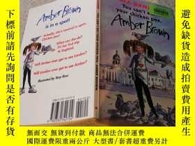 二手書博民逛書店You罕見Cant Eat Your Chicken Pox, Amber Brown你不能吃你的水痘,Amber