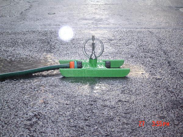 中段鐵環噴頭腳架(雙邊都可接6分耐壓管)